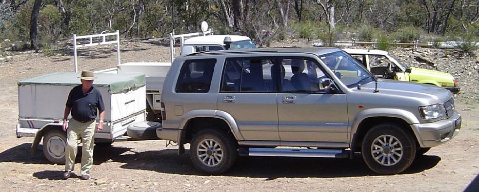 Holden Jackaroo Modifications