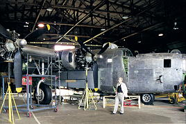 John visits the B24 Liberator restoration site at Werribee.