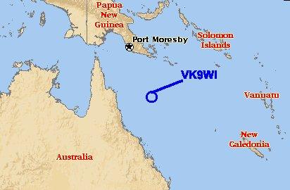 VK9WI Willis Island DX...