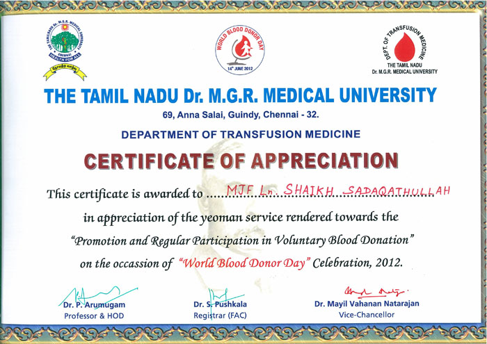 Welcome to the homepage of shaikh sadaqathullah vu2 sdu from india world blood donor day on 14th june 2012 yelopaper Choice Image