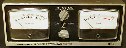 Micronta 520A SWR Meter