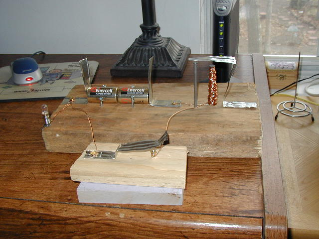 Homemade Telegraph Keys Telegraph Amp Sci Instrument Museums