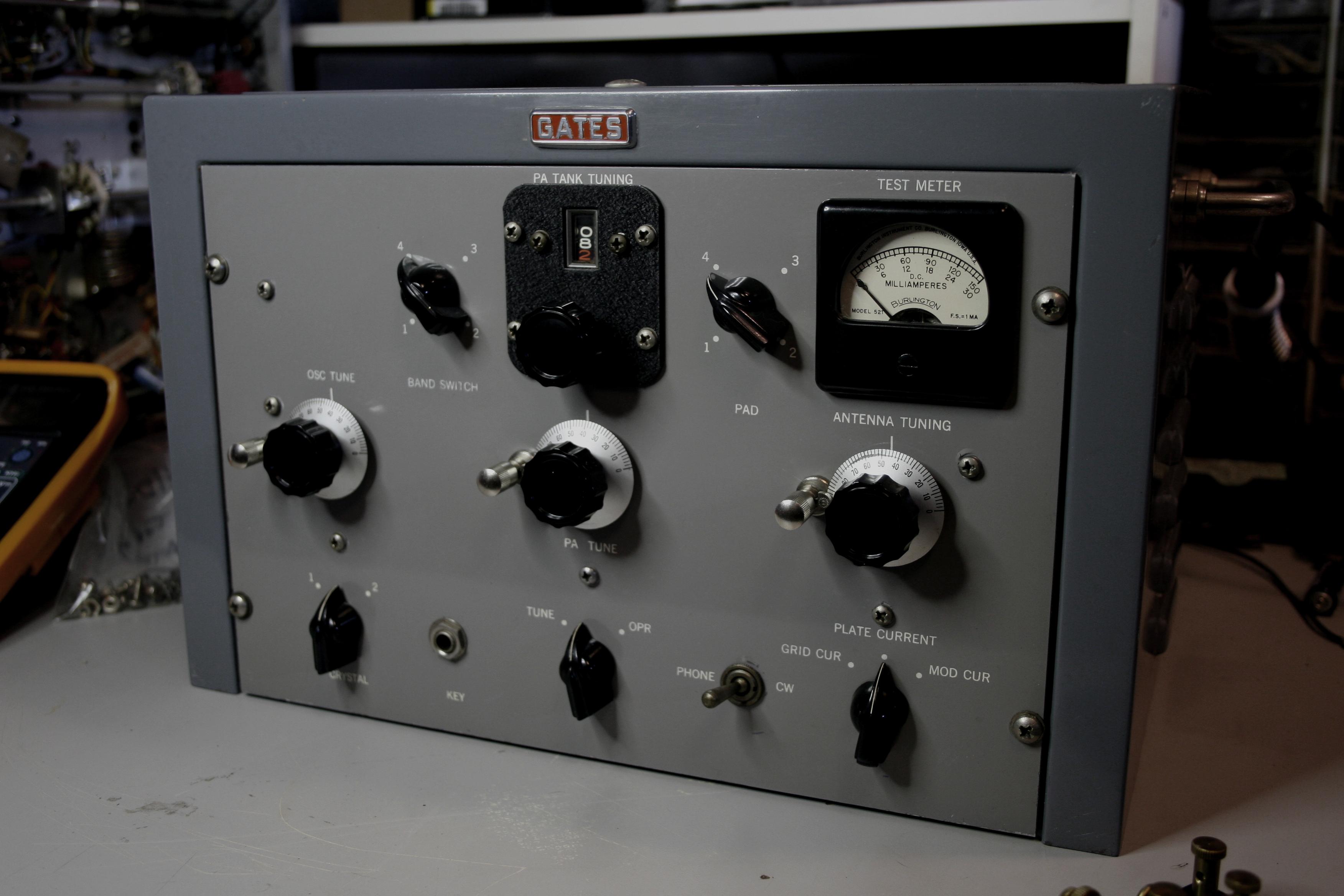 Gates Radio M-5078 SW Transmitter