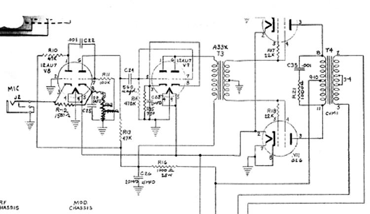 restoration of gates m cw transmitter