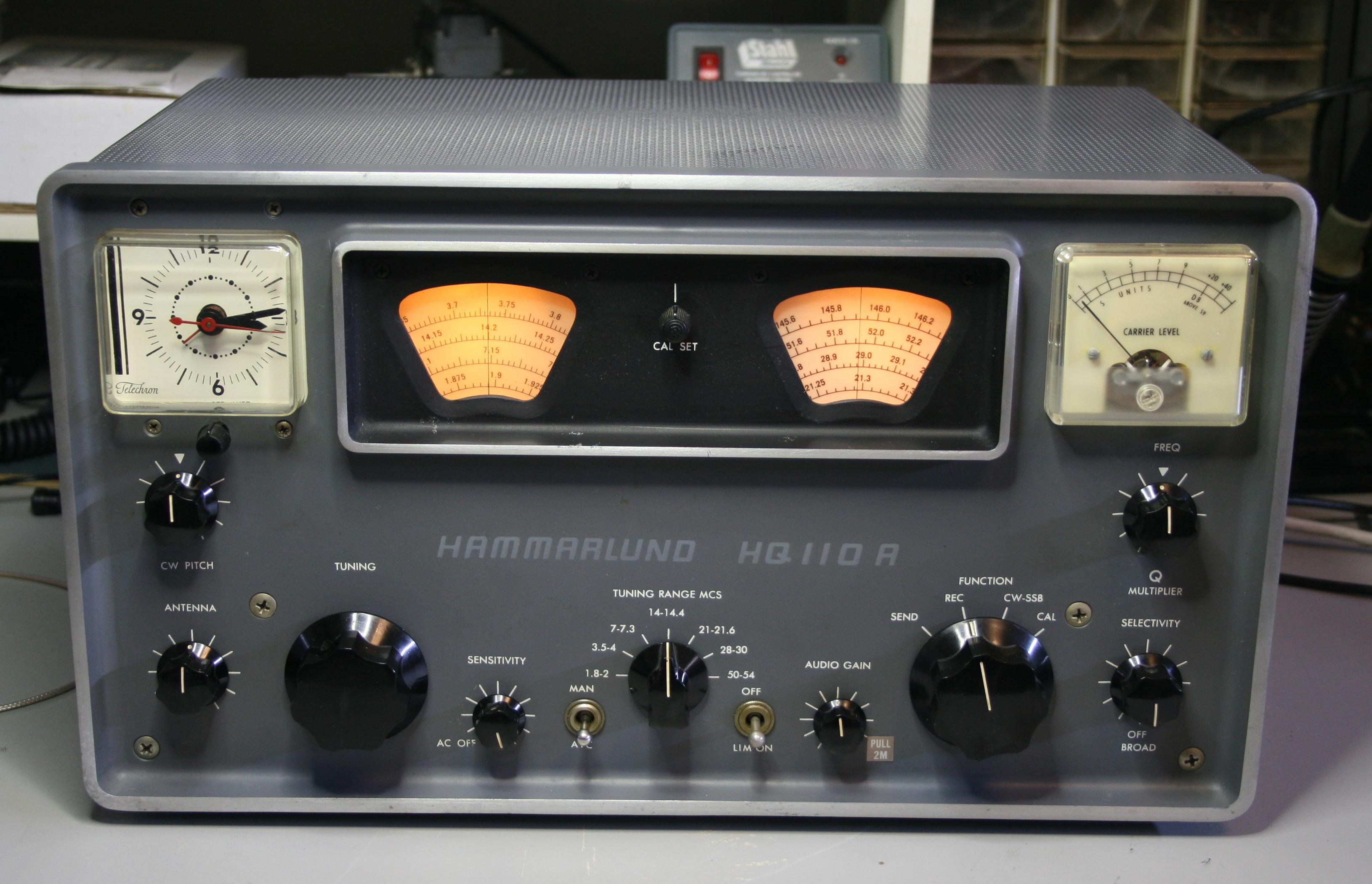Hammarlund HQ-110AC-VHF