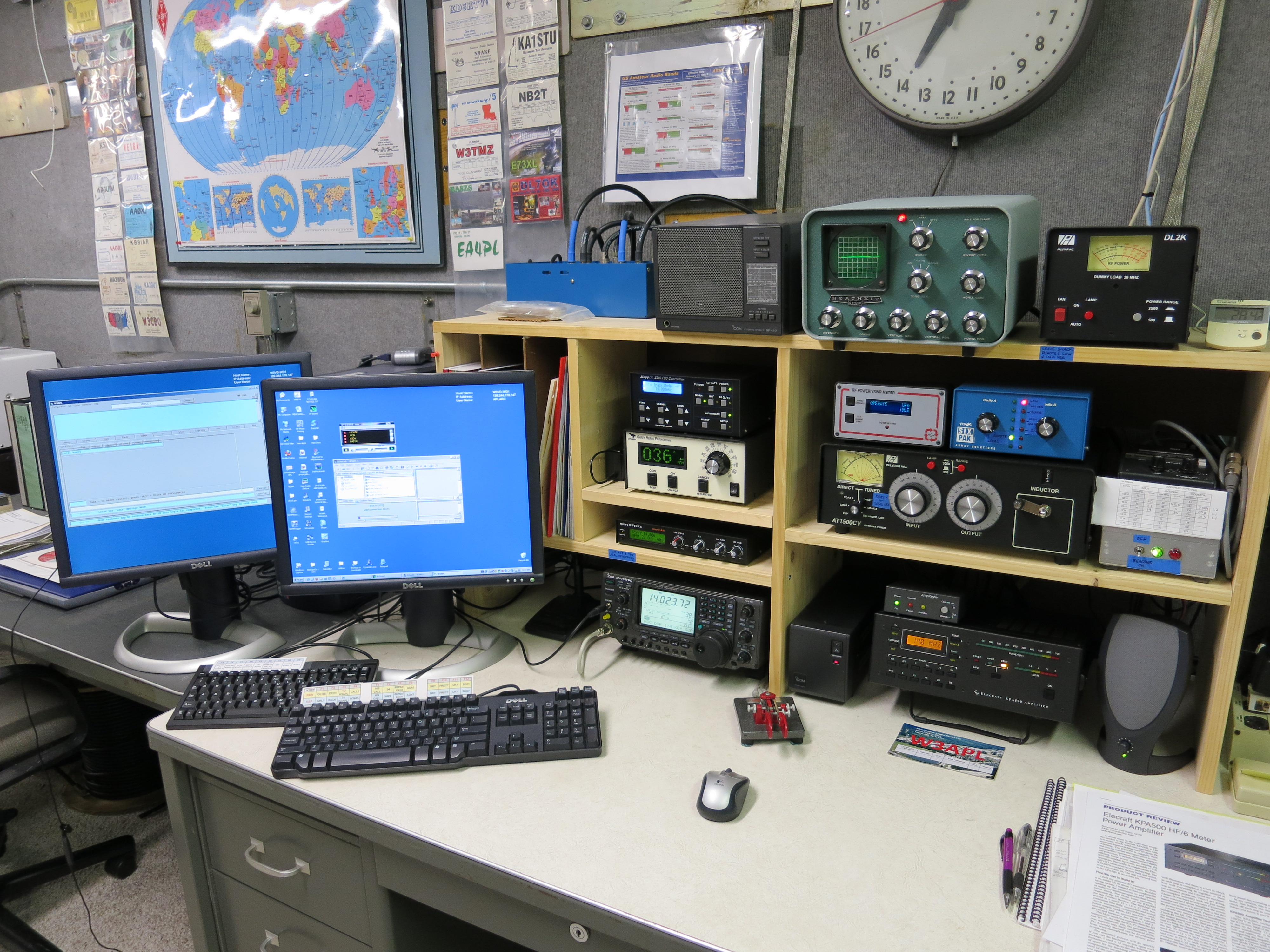 Amateur Radio Station Wb4omm: W3APL Home Page