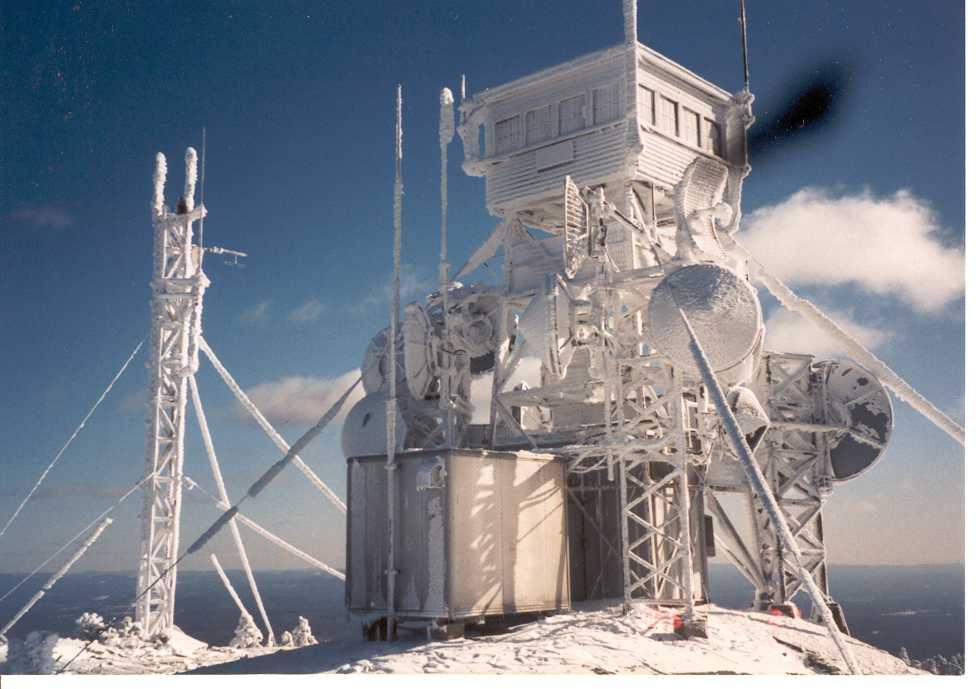 Ice Covered Summit