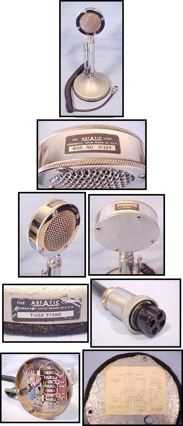 D - 104 Microphone wiring information, mods and circuits ...