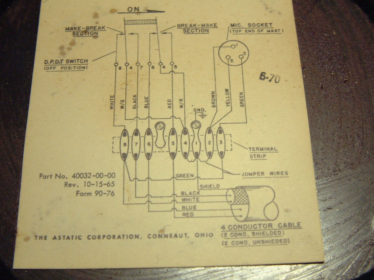 Astatic D 104 Wiring | Wiring Diagrams on