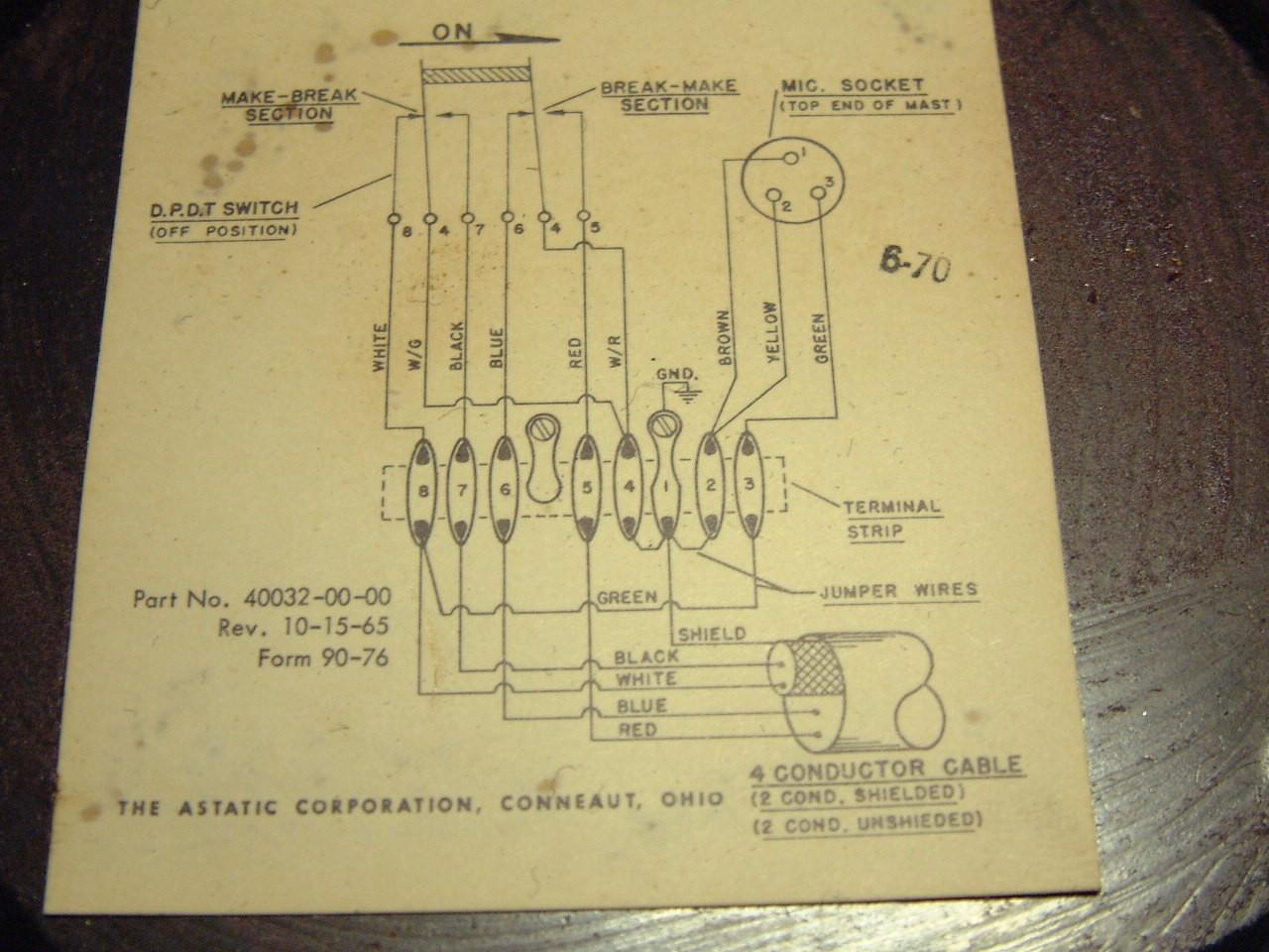 D104 4 Pin Astatic Wiring Diagram Mc 321r View