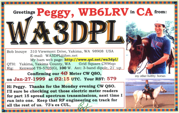 QSL Cards How To Make Your Own - Qsl card template
