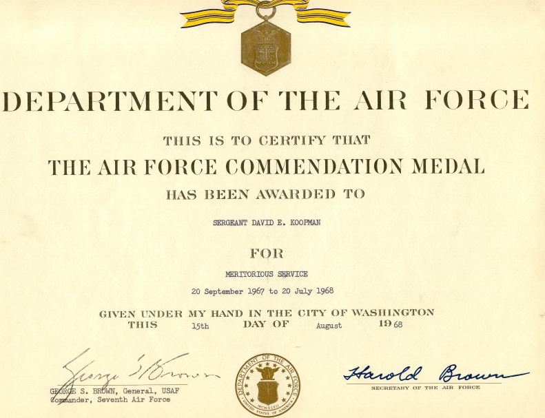 Medal 4 10 from 73 votes air force commendation medal 5 10 for Air force decoration writing