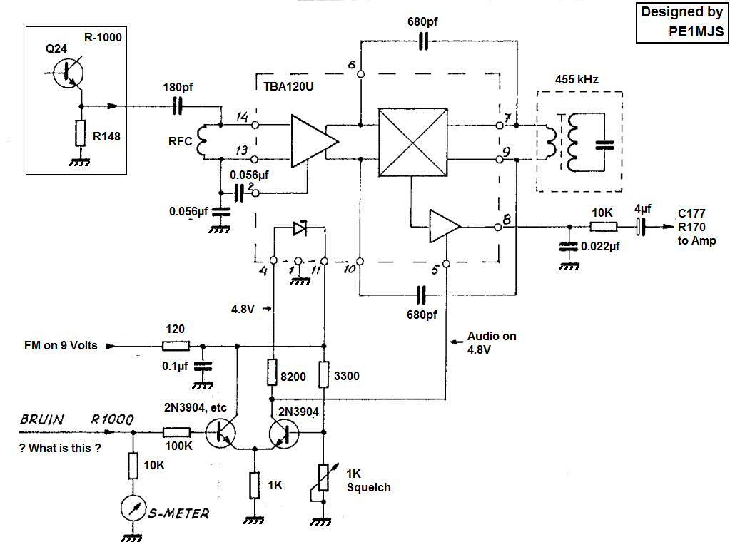 Help I Just Got A R 1000 Fm Demodulator Circuit An