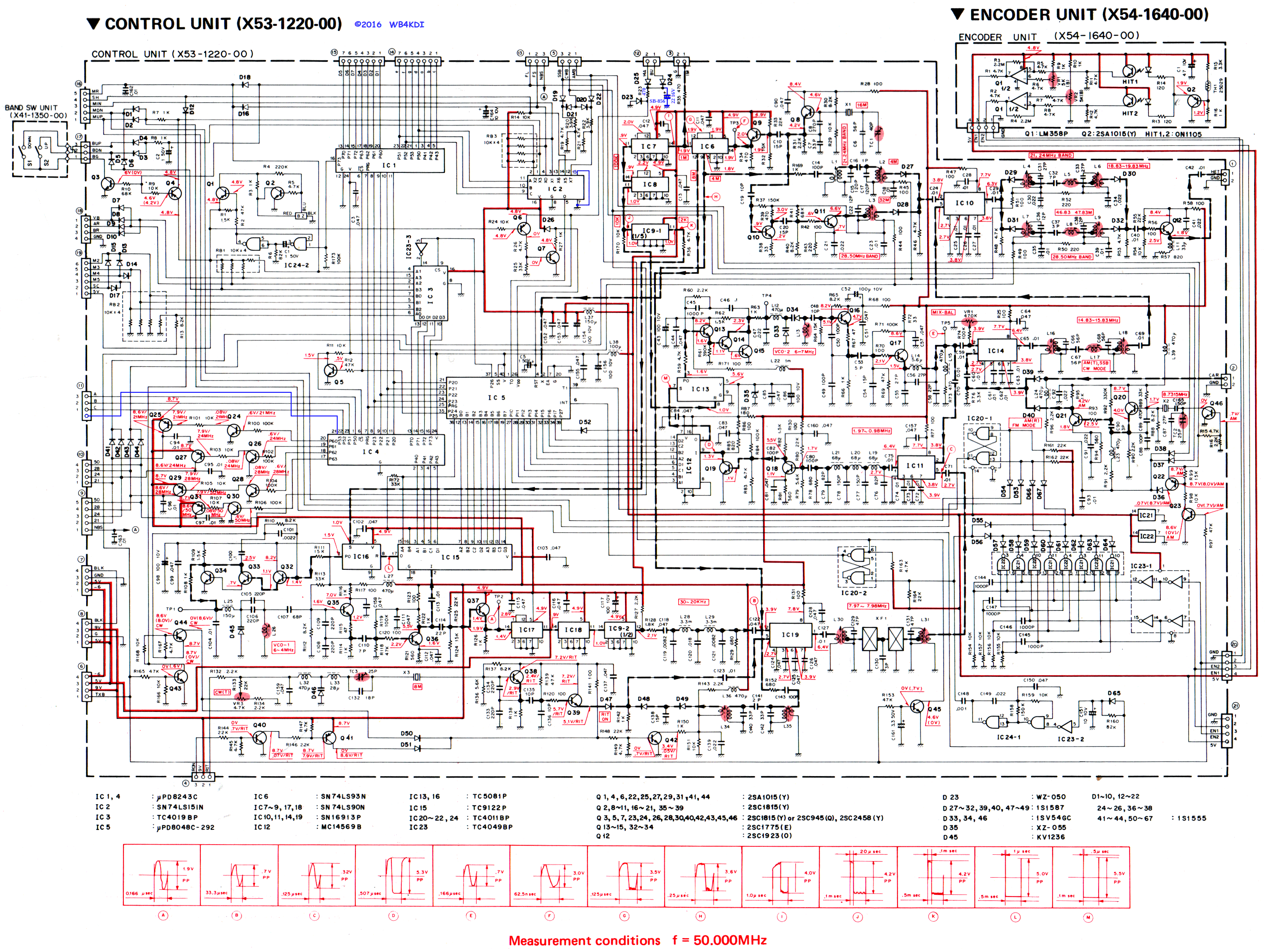 Schematic Of Display Ts850 Wire Center Ces0110057xx Series Carrier Furnace Control Boardmov Youtube Kenwood Radio Notes Rh Qsl Net