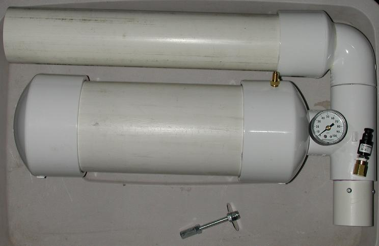 Pneumatic Antenna Launcher