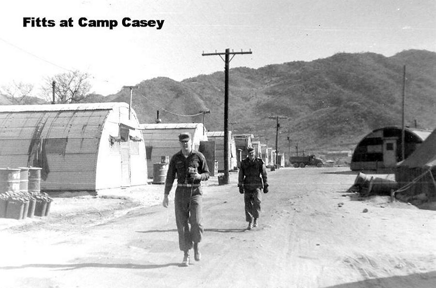 Camp Casey Korea 1953 1954