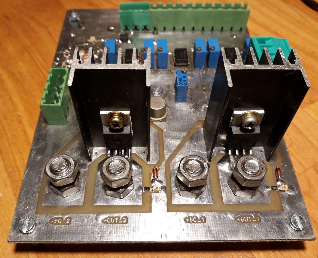 Yo4hfu Website Lt1074 Stepdown Switching Regulator Linear Technology Bts50085 Profet Switch