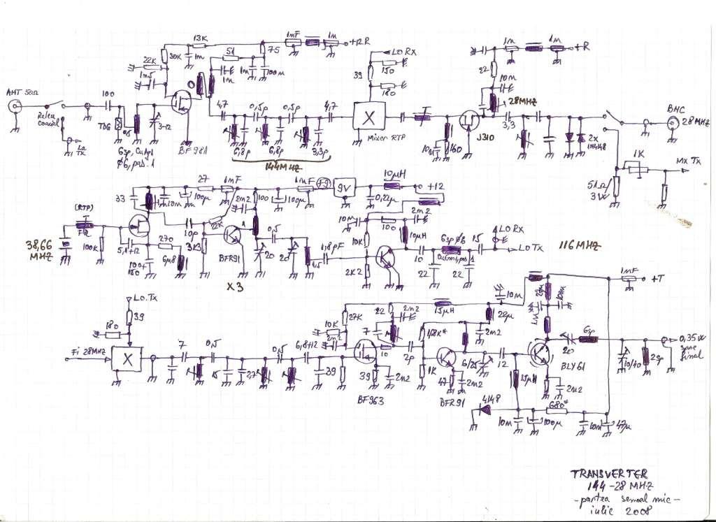 Transverter 144 28 mhz