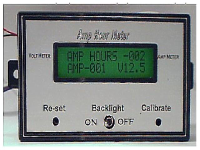 Amp Hour Meter : Amper hour meter project