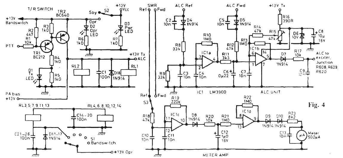 100w hf qro amplifier