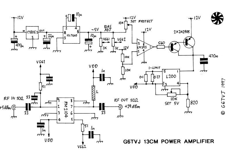 13cms Power Amplifier