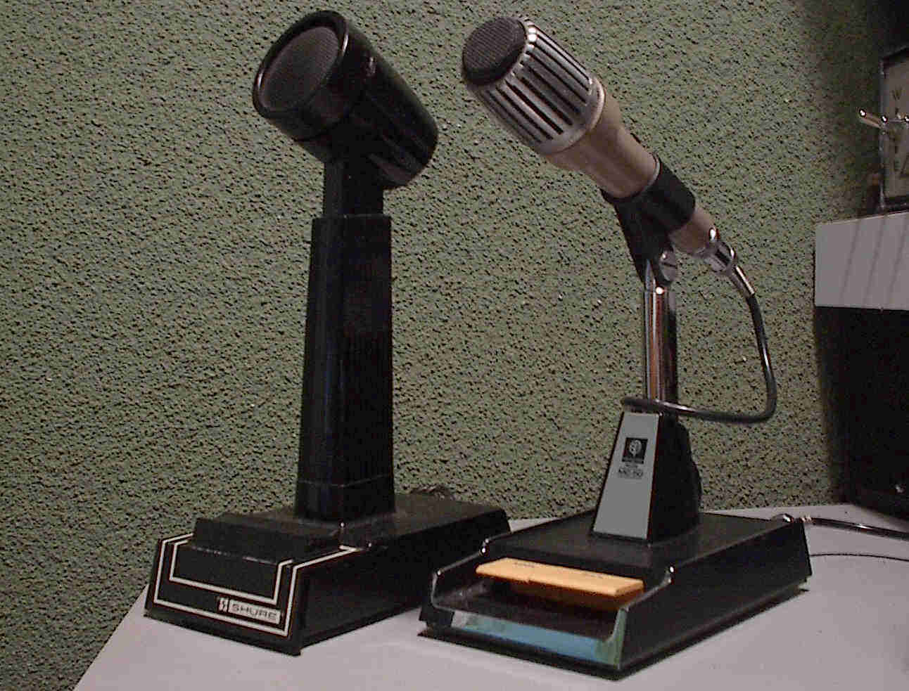 Shure 444d And Kenwood Mc