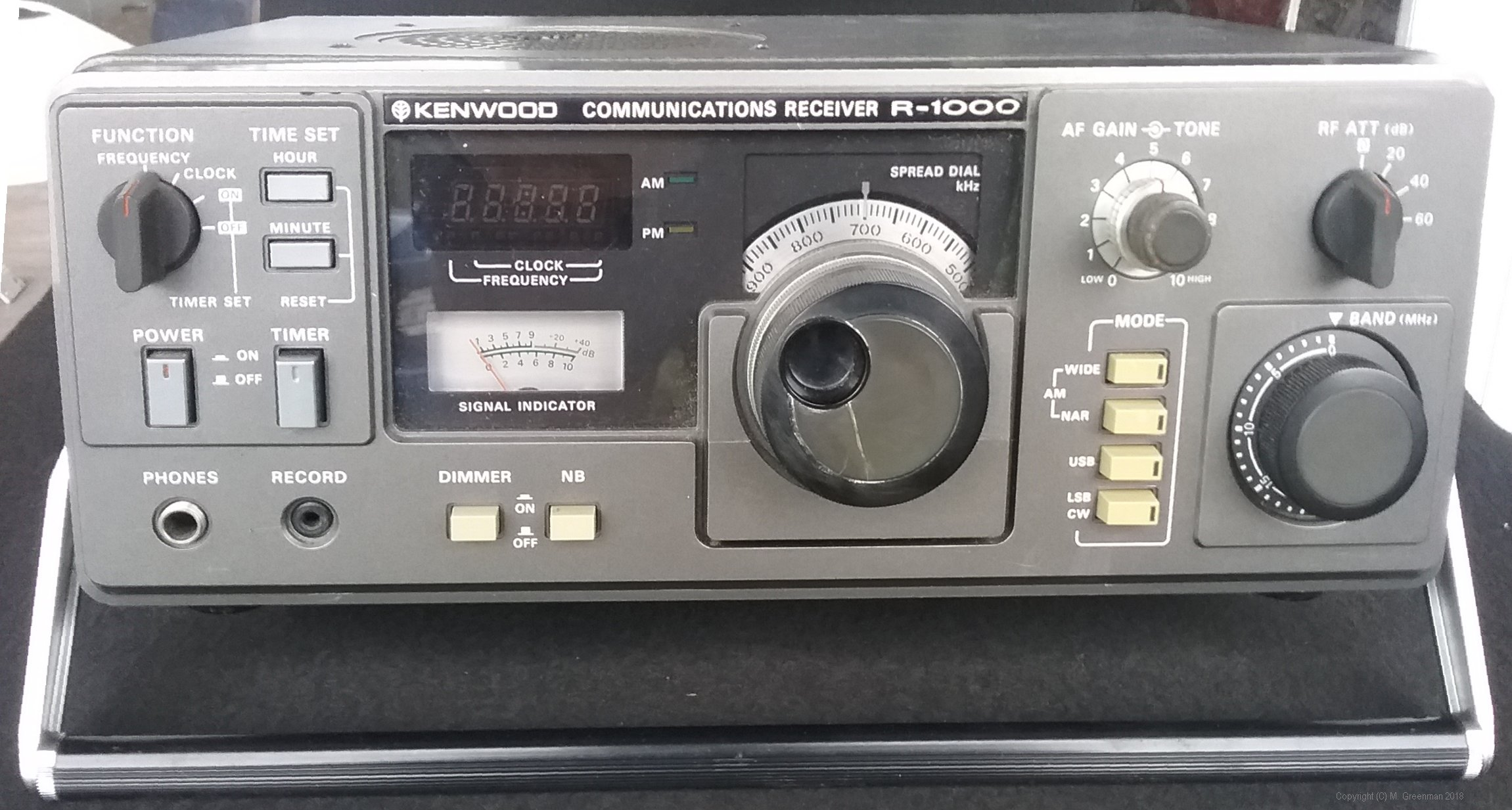 My Receiver Collection - 1980s