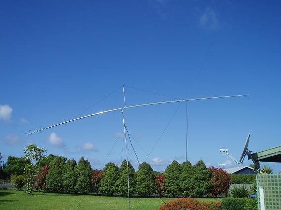 ZL1RS Bob Sutton New Zealand - 2m EME portable arrays