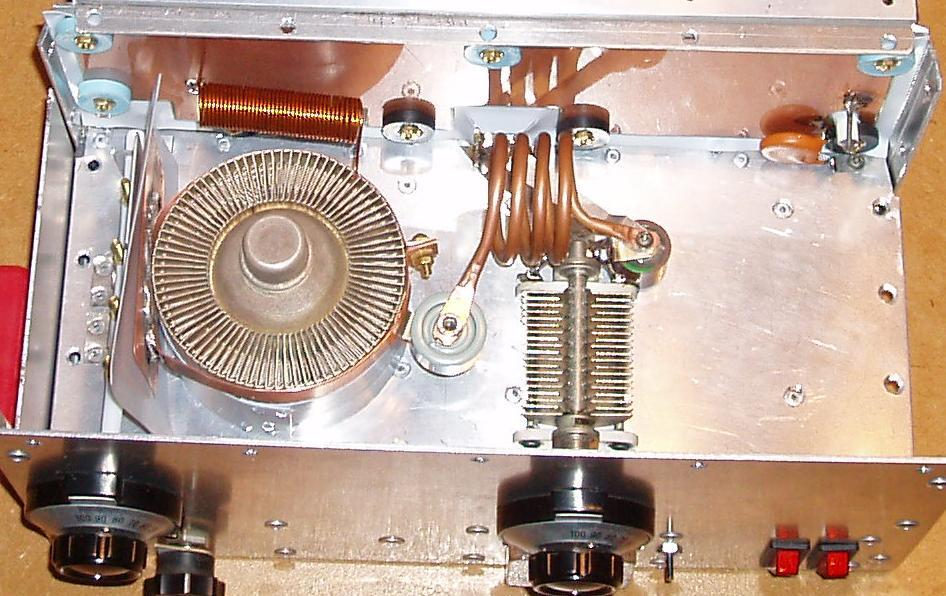 ZL1RS Bob Sutton New Zealand - 8877 carry-on sized 6M 1KW Amplifier
