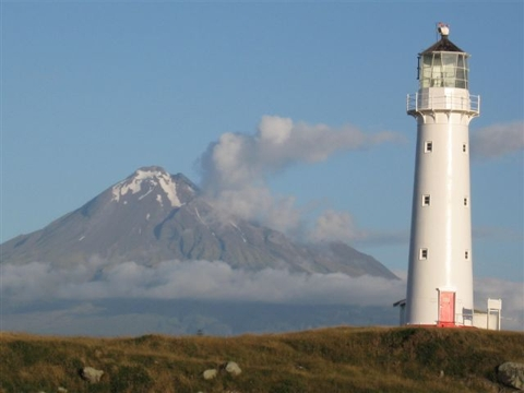Cape Egmont LH and Mt Egmont