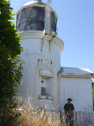 Somes Island Lighthouse trip 2009