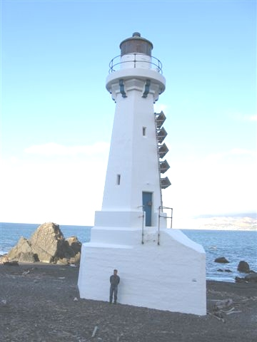 Pencarrow Lighthouse (lower)  - Wellington Harbour