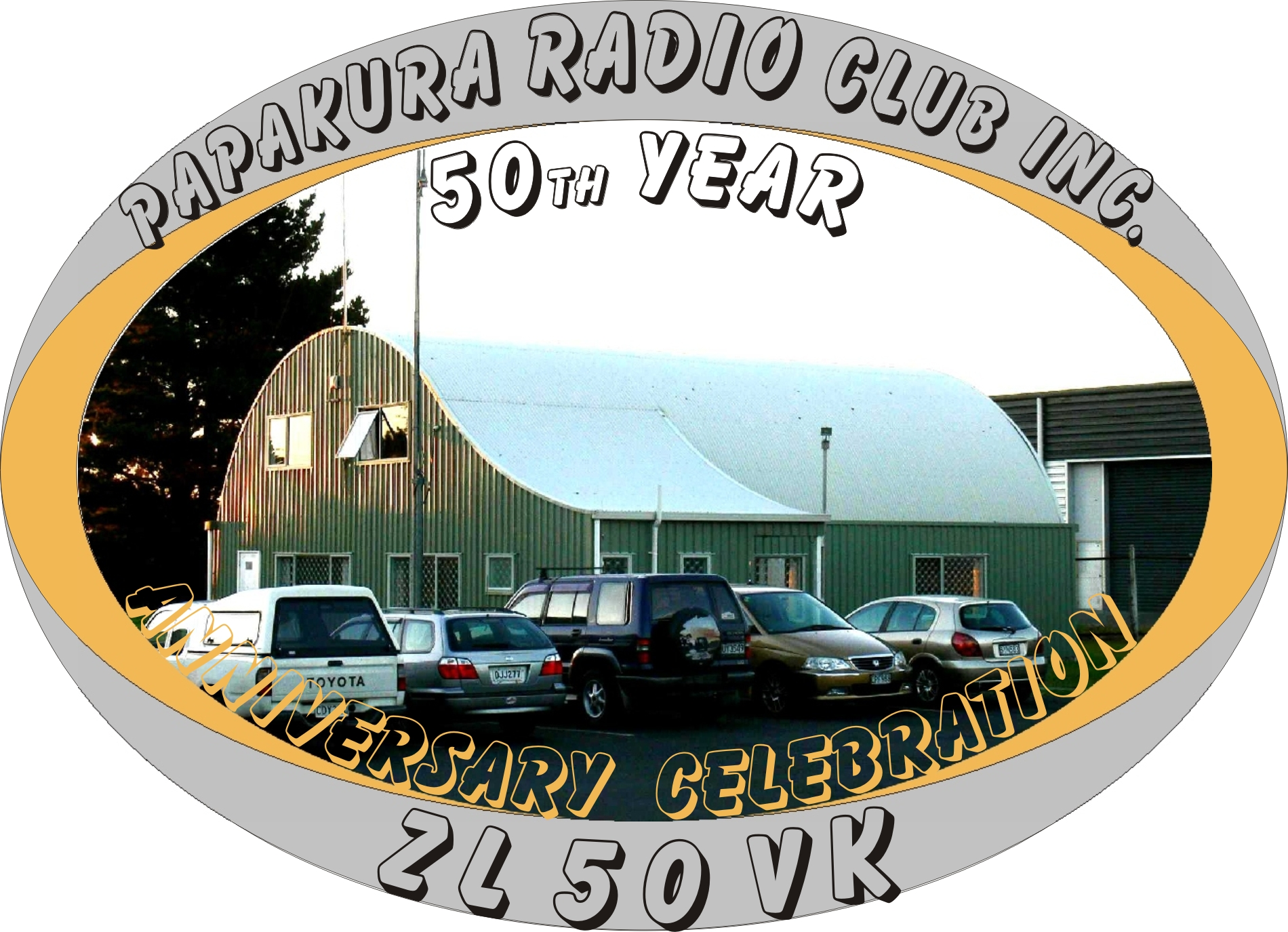 Our Papakura Radio Club inc. building