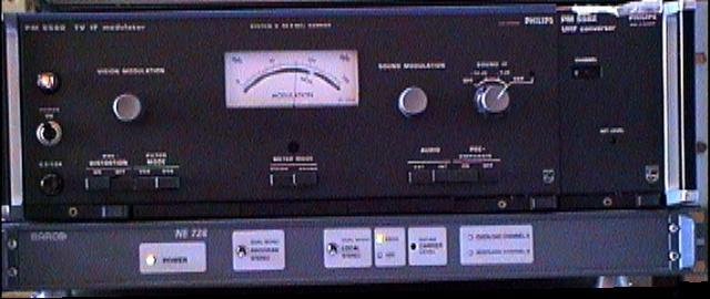 Television Amplifiers Philips TV IF modulator PM5580 PM5582