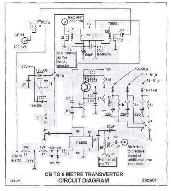 cb to 6m transverter